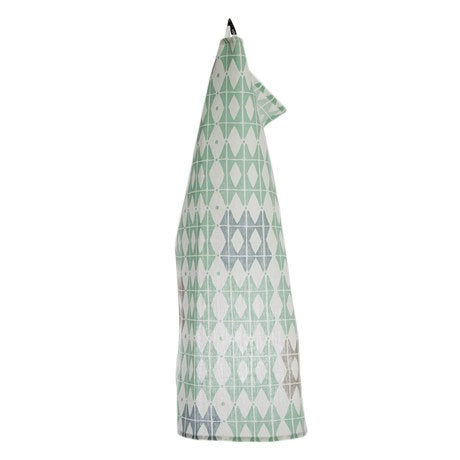 Iris Hantverk - Towel Square 50 Frosty Green