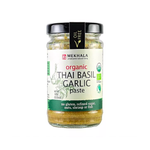 Organic Vegan Thai Basil Garlic Paste 100g