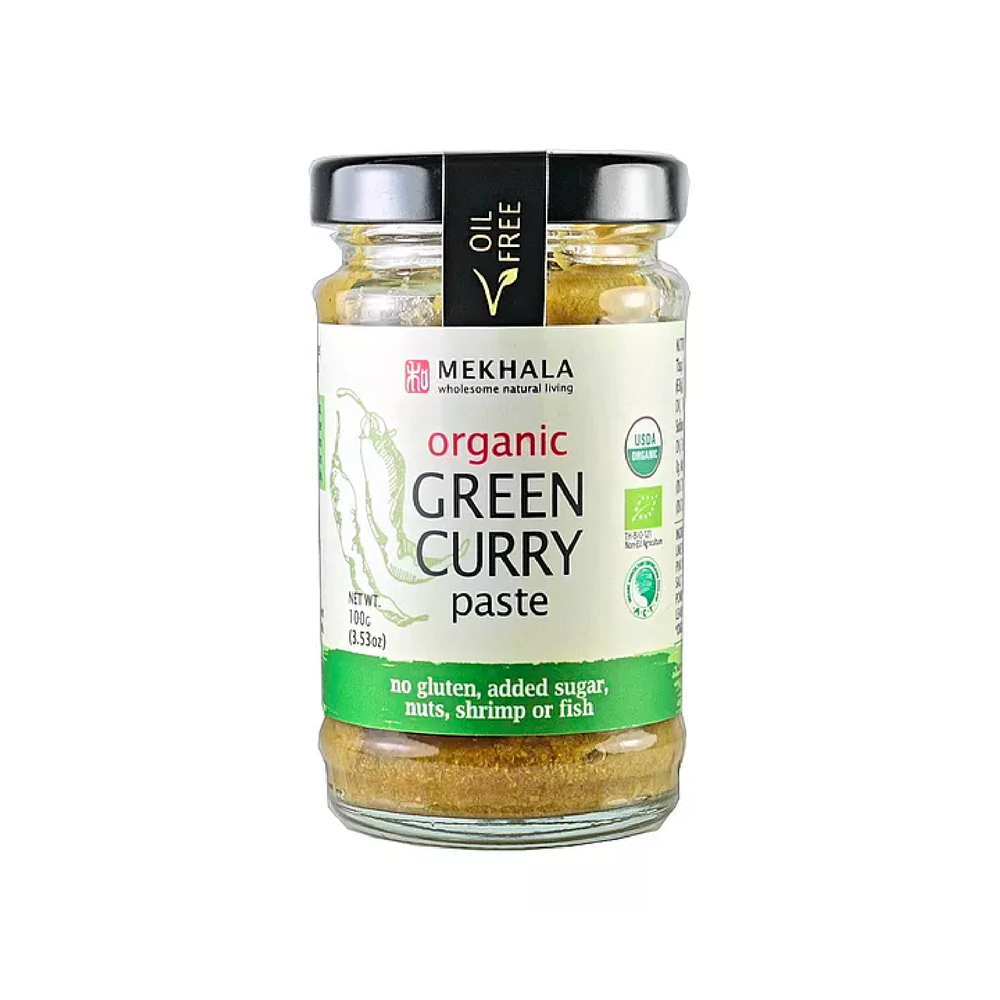Organic Vegan Thai Green Curry Paste 100g