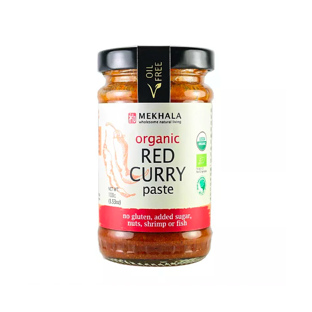Organic Vegan Thai Red Curry Paste 100g