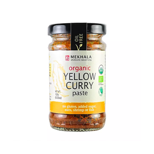 Organic Vegan Thai Yellow Curry Paste 100g