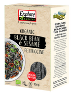 Explore Asian Black Bean & Sesame Fettuccine 200g