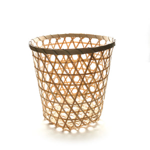 Bamboo Trash Basket