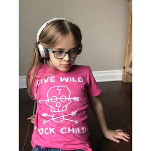 Live Wild Rock Child Youth Tee - Roxx n' Rule