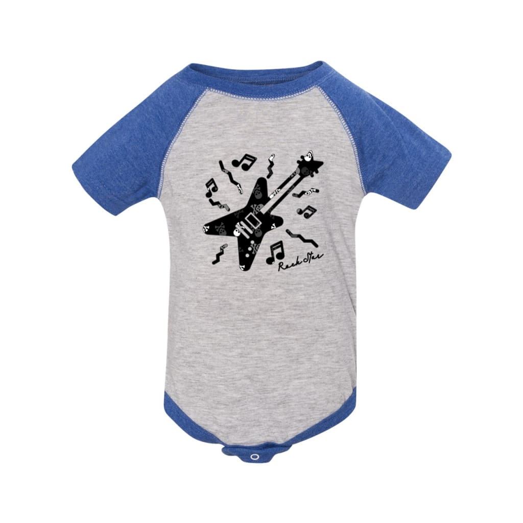 Rock Star Guitar Baby Onesie - Roxx n' Rule