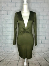 Load image into Gallery viewer, Olive Long Sleeve Dress