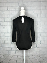 Load image into Gallery viewer, Black Plus Size Bodysuit