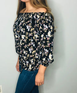 Mimi Floral Top - Extra Curves