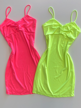 Load image into Gallery viewer, Nani Dress - Neon Pink
