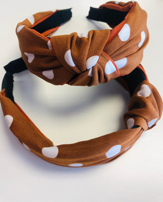 Polka Dot Head Band