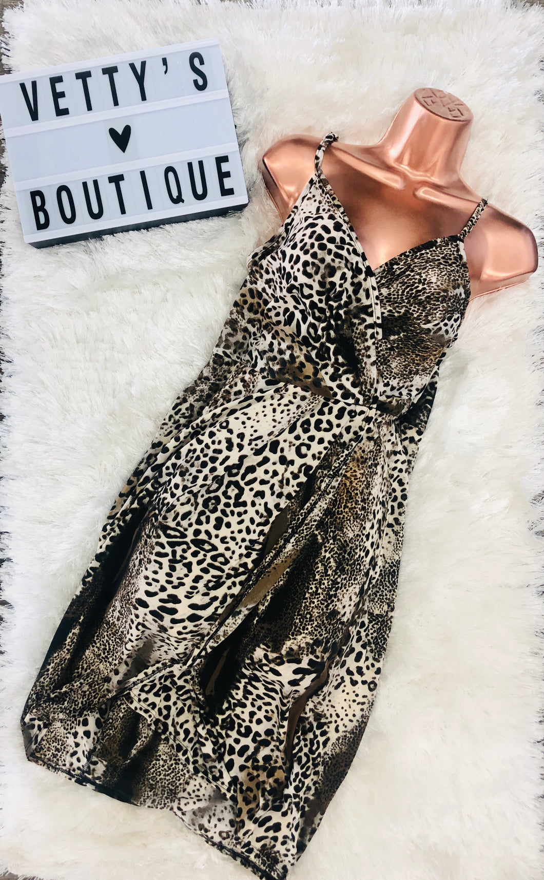 All Leopard Dress - Extra Curves