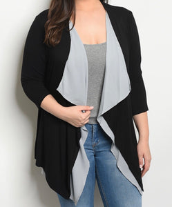 Casual Day Cardigan - Extra Curves