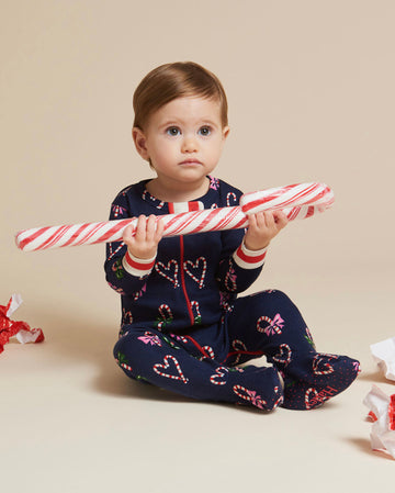 Candy Cane Organic Cotton All in One