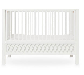 Harlequin Baby Bed White