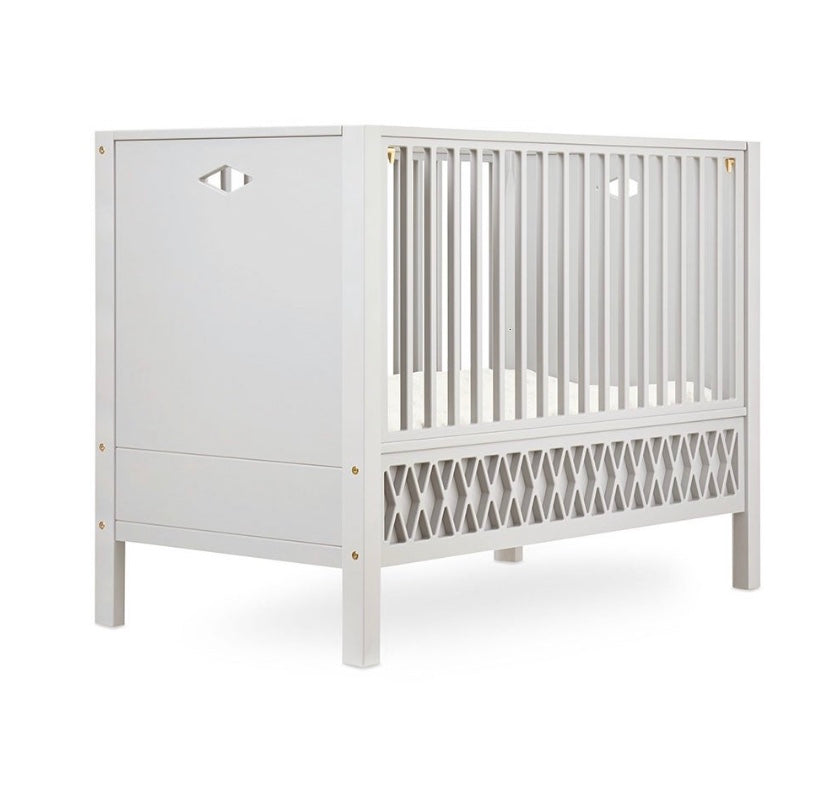 Harlequin Baby Closed End Bed Light Sand