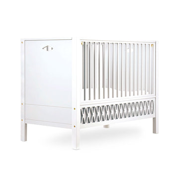 Harlequin Baby Closed End Bed White