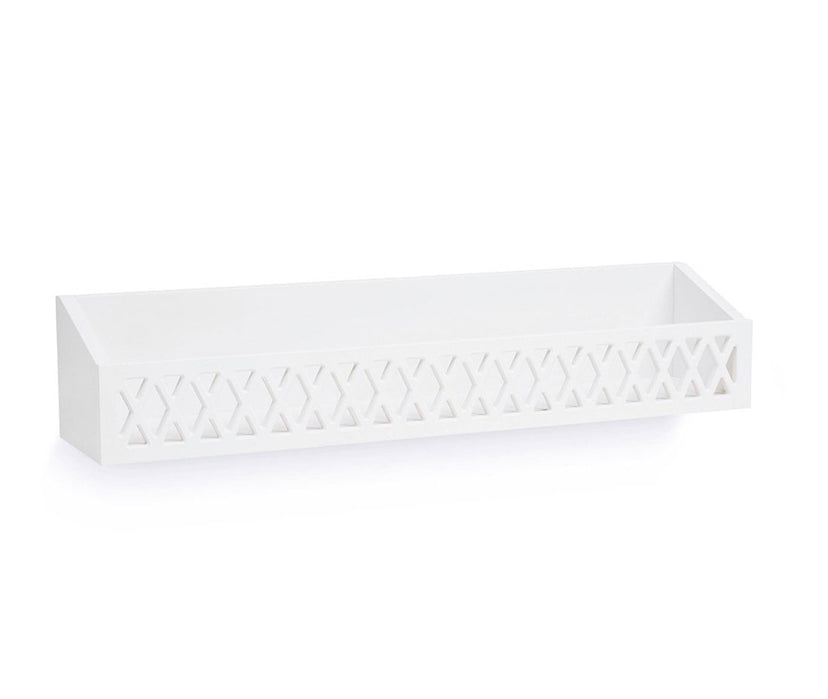 Harlequin Shelf White
