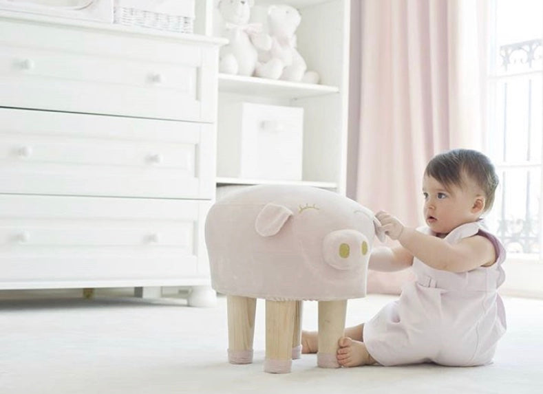 Piglet Stool - No longer available for Dec 25th Delivery