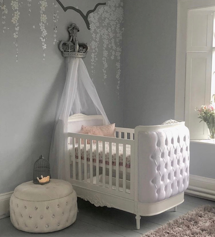 Princess Canopy Mount Silver