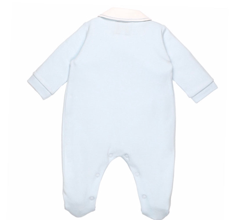 Rhys Cotton Babygrow and Hat Set