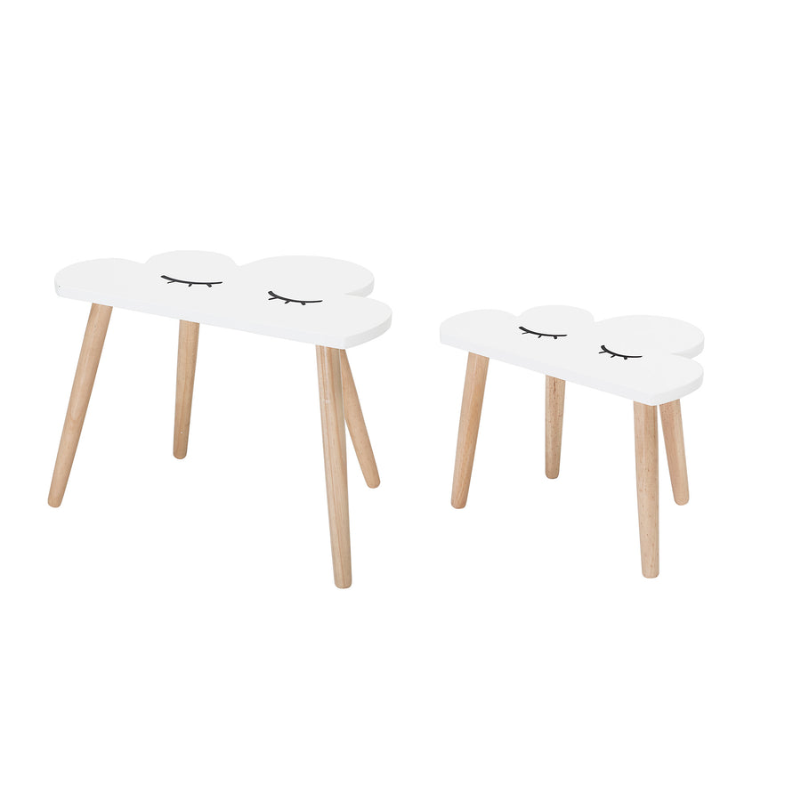 Cloud childrens table (set of 2)