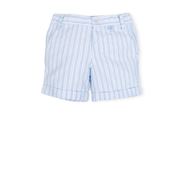 Blue Stripe Shorts