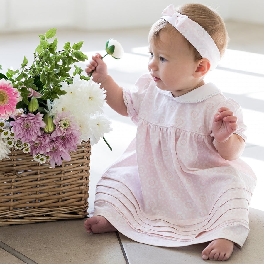 Emile Et Rose Petunia Baby Pink Dress
