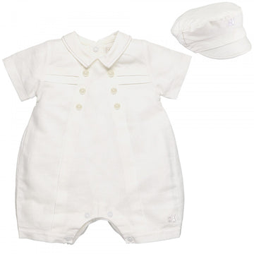 Pierre Romper and Hat set
