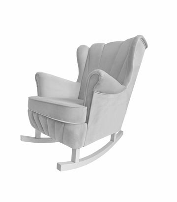 Grey Rocking Armchair Shell