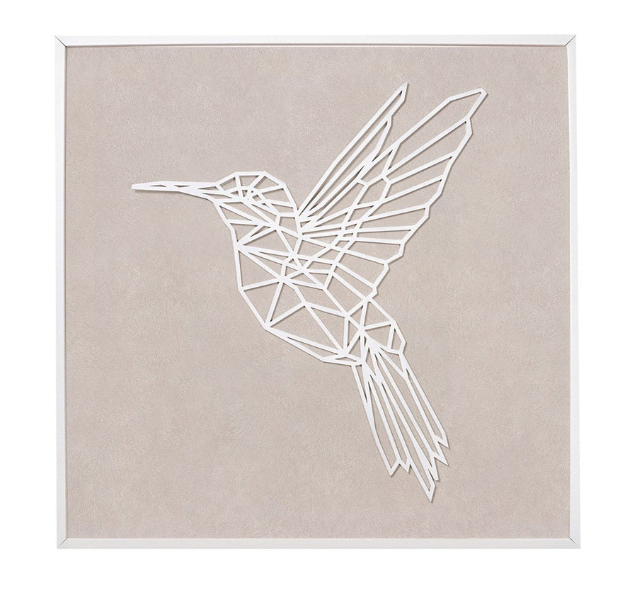 Hummingbird baby nursery wall art