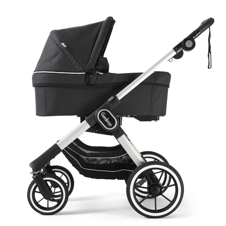 EMMALJUNGA NXT90 Lounge Black with Silver Chassis Package
