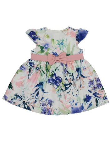 Floral Dress-Multicolor