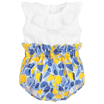 cotton baby summer romper