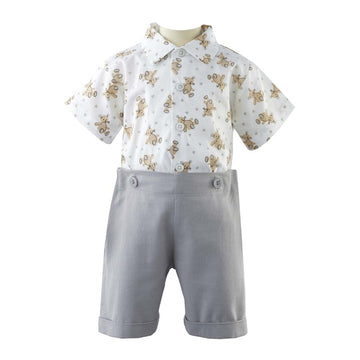 Teddy Shirt and Short Set