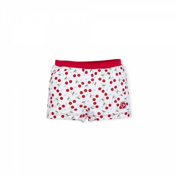 Cherry print swim shorts