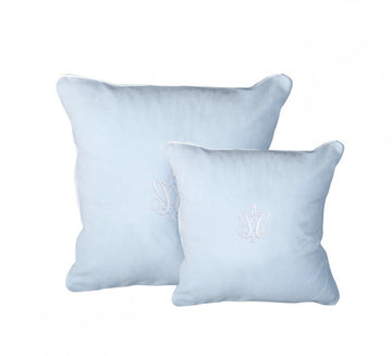 Baby Blue Azure Pillow