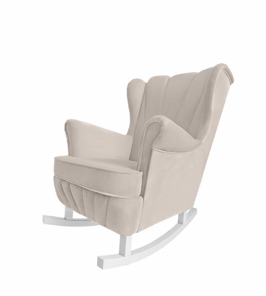 Beige Rocking Armchair Shell