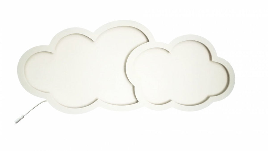 Cloud wall lamp