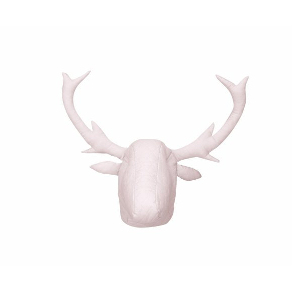 Pink Knitwear Moose Head