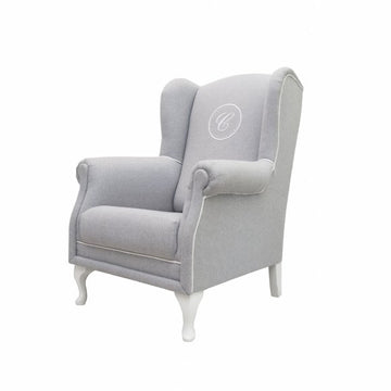 Grey Melange Armchair