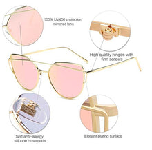Load image into Gallery viewer, cat eyes pink sunglasses eyewear