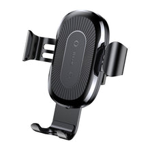 Load image into Gallery viewer, Wireless iphone samsung car mount charger