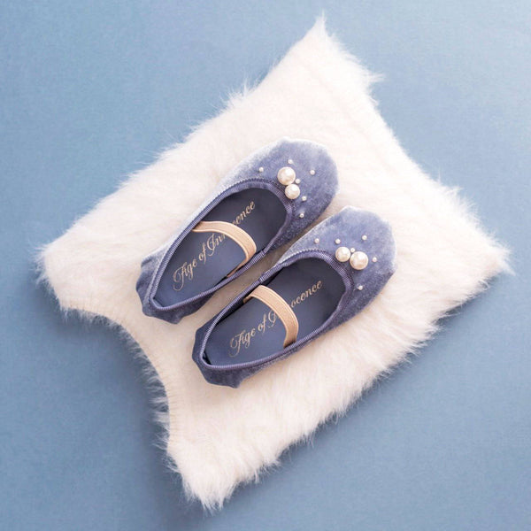 3 fabulous looks with blue Zelda ballerina shoes | Age of Innocence