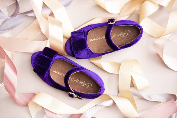 3 cool looks with our velvet violet Ellen shoes | Age of Innocence
