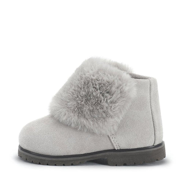 Chubi Grey Boots by Age of Innocence