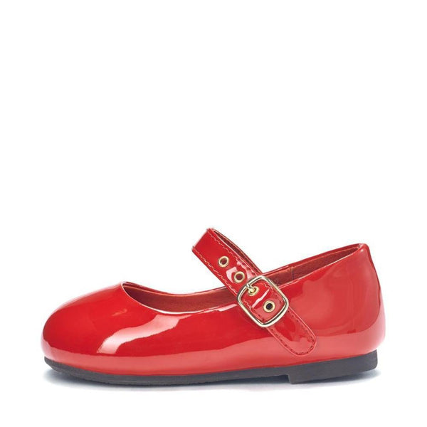 Eva PU Red Shoes by Age of Innocence
