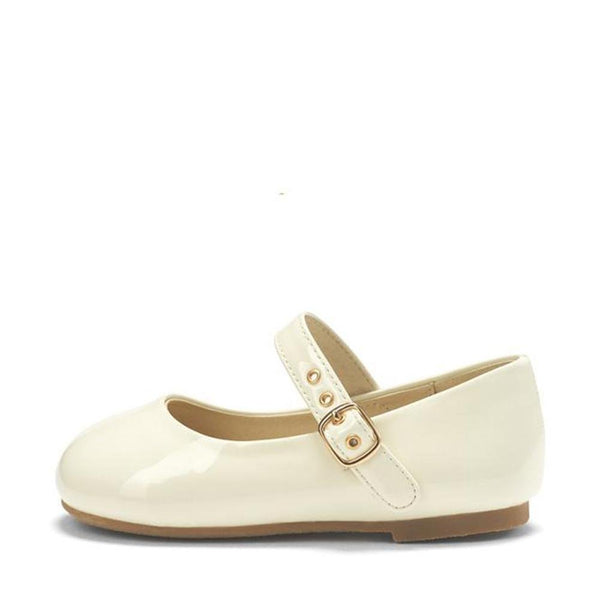 Eva PU White Shoes by Age of Innocence
