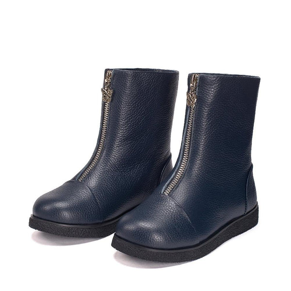 Lily Navy Boots by Age of Innocence
