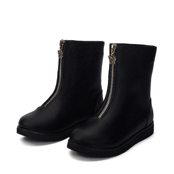 Lily Black Boots by Age of Innocence