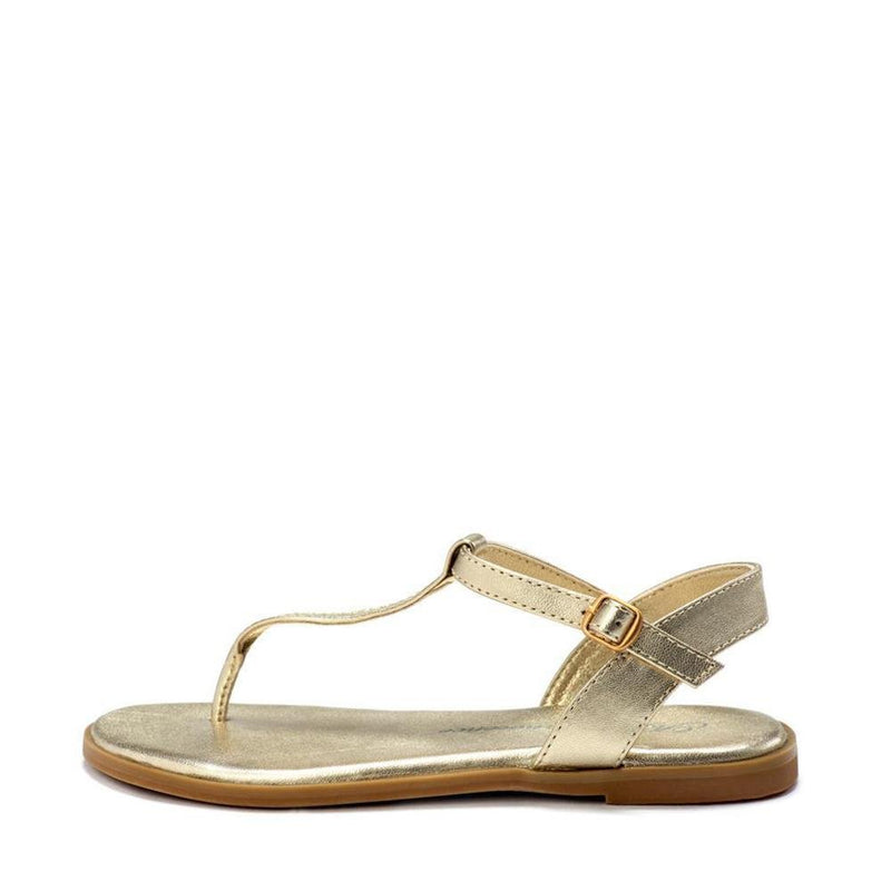 Luna Gold Sandals by Age of Innocence